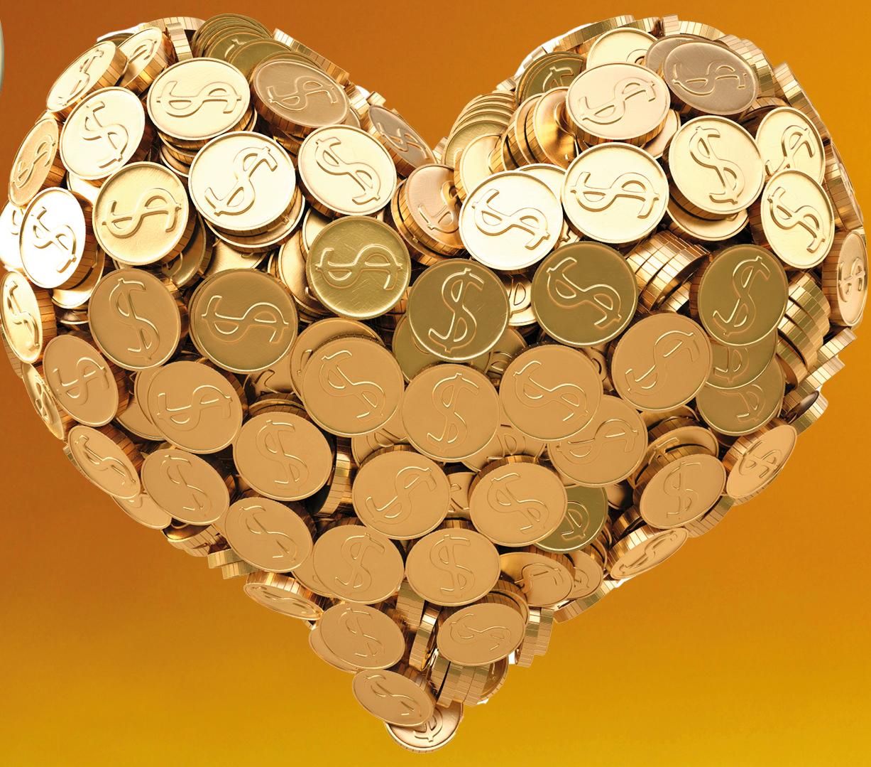 L'abondance, la souffrance et l'argent
